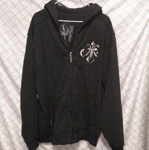 Mens Full zip hoodie